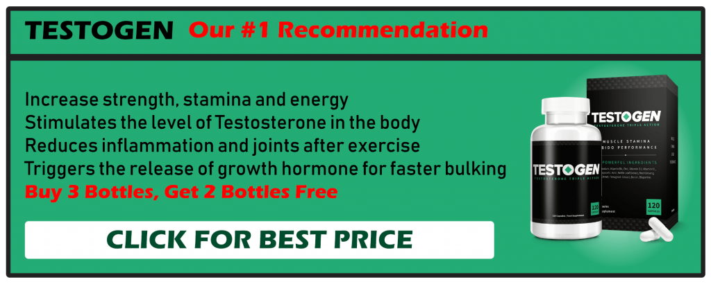 Testogen Our #1 Recommendation